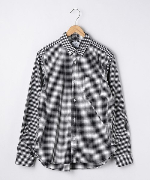 coenのギンガムチェックシャツ