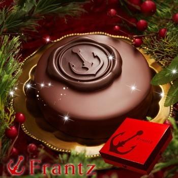 2017年の人気クリスマスケーキは神戸フランツの生チョコザッハ