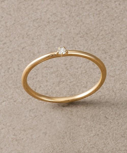 彼女や妻へのプレゼントにエテの一粒ダイヤの指輪.jpg