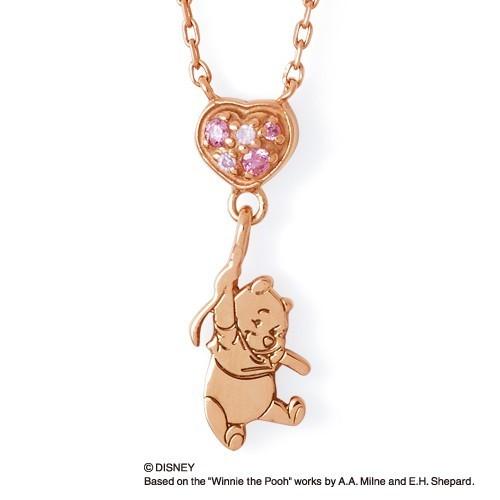 ディズニーのプレゼントにザ_キッスのくまのプーさんシルバーネックレス.jpg