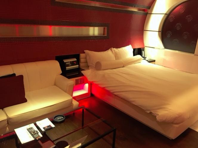 ホテルパシャの内装