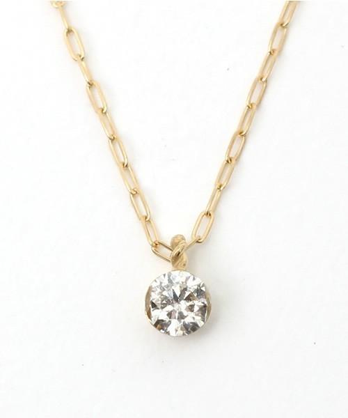 40代女性へのクリスマスプレゼントにAgeteの一粒ダイヤのネックレス.jpg