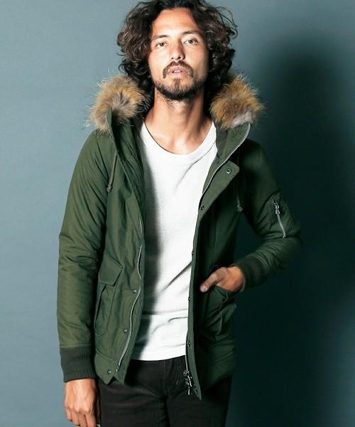 保温性の高いジャケット