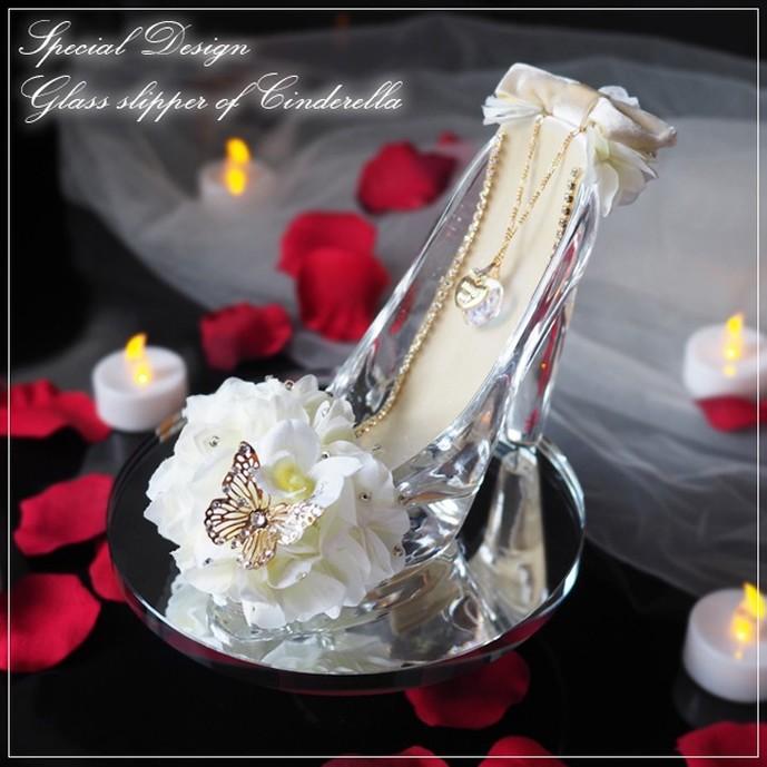 30代彼女への誕生日プレゼントはガラスの靴