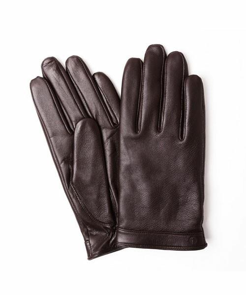 スマホタッチ可能なレザー手袋