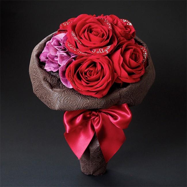 30代女性へのクリスマスプレゼントにメリアルームのバラの花束.jpg