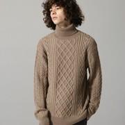 ブラウンニットのメンズコーデ術。大人っぽく仕上がる上品な着こなし方とは | Smartlog