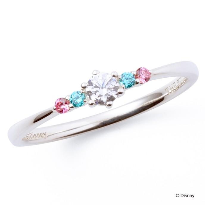 ディズニーアクセサリーのプレゼントにアリエルの指輪.jpg