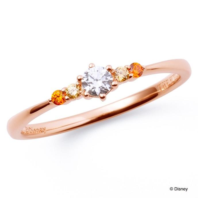 ディズニーアクセサリーのプレゼントにベルの指輪.jpg