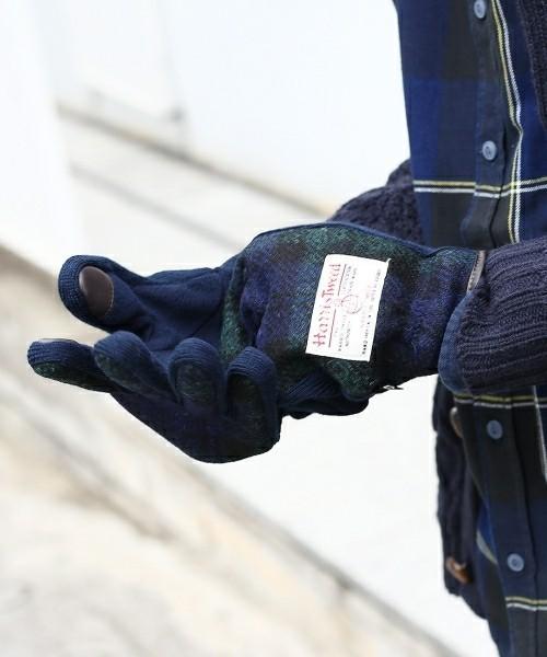 大学生彼氏へのクリスマスプレゼントはハリスツイードの手袋