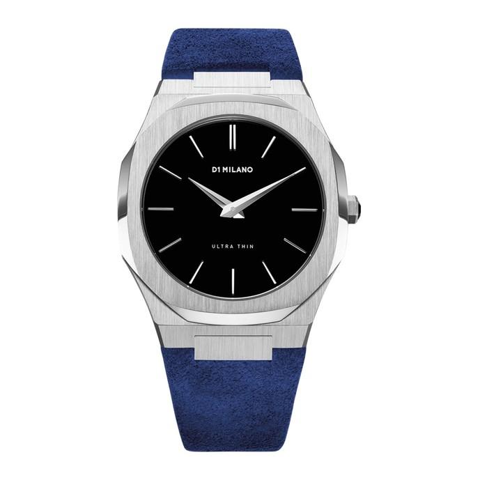 ブルーの時計