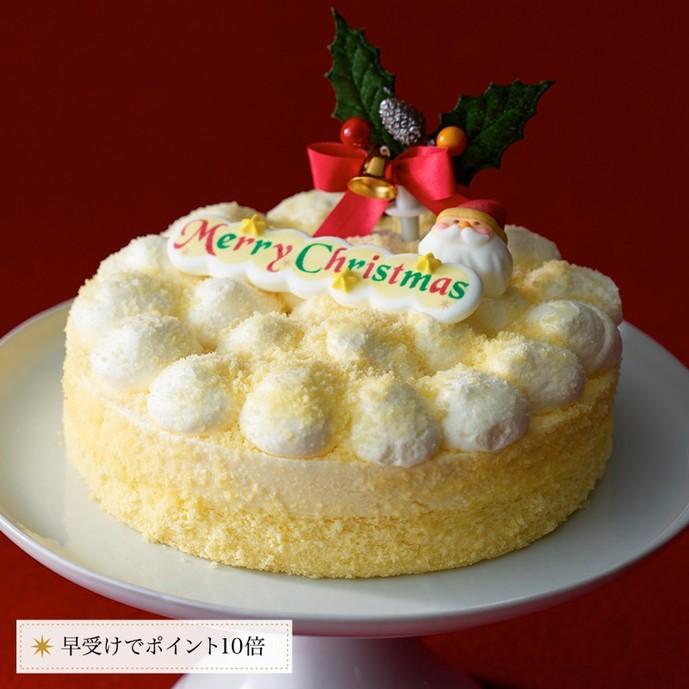 2017年の人気クリスマスケーキはルタオ3