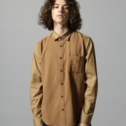 ベージュシャツのメンズ着こなし術。秋冬に最適なおしゃれコーデを厳選 | Smartlog