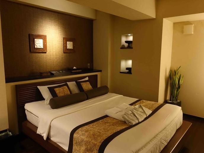 ホテルアロマの内装