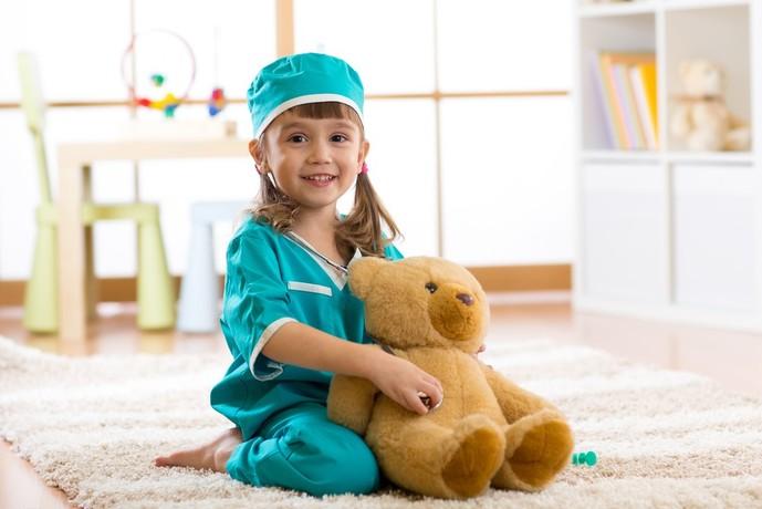 4歳の女の子に贈る誕生日プレゼントはおもちゃ
