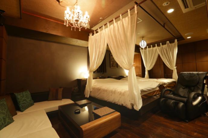 ホテルバリアンリゾート錦糸町店の内装
