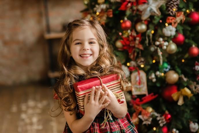 女の子へのクリスマスプレゼント