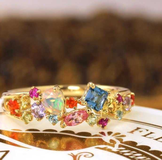 クリスマスプレゼントにビズーの指輪を