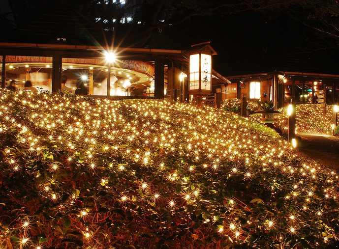クリスマスのホテルニューオータニ