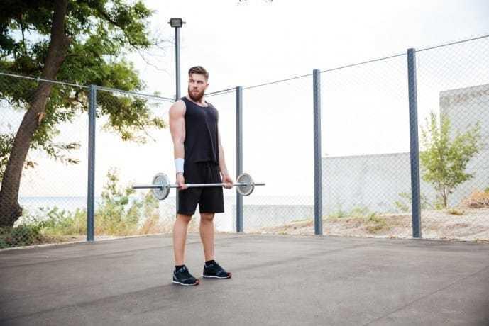 筋の効果的な筋トレ方法であるバーベルトレーニング