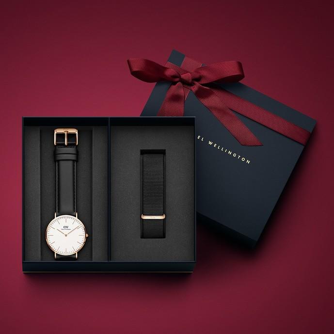 彼氏へのクリスマスプレゼントはダニエルウェリントンの腕時計
