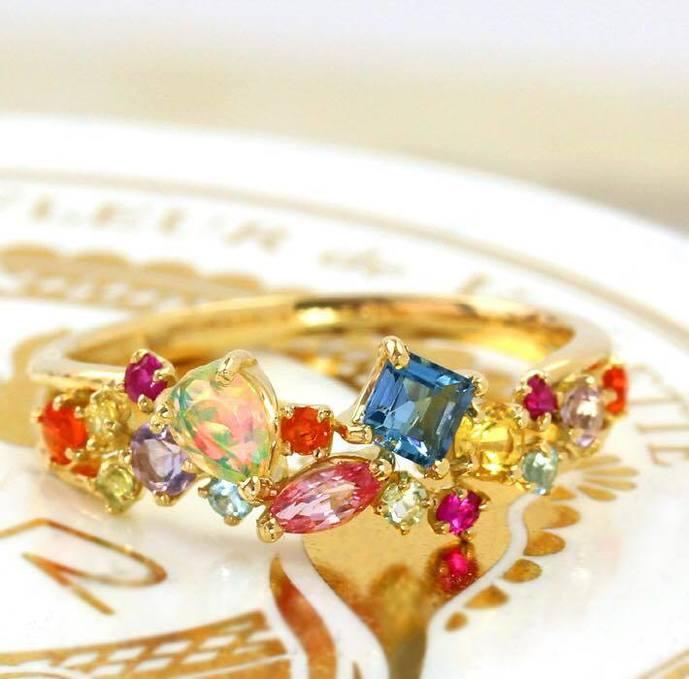 クリスマスプレゼントに贈りたいビズーの指輪