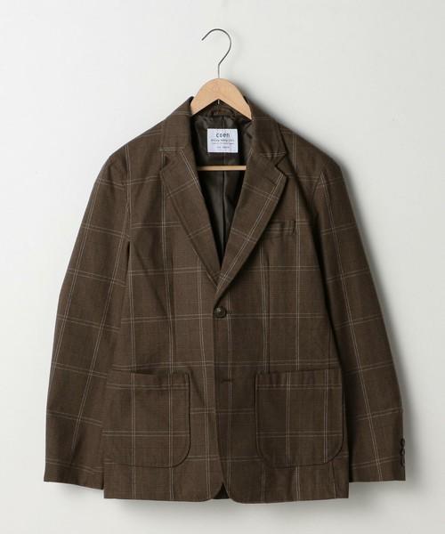 coenのブラウンジャケット