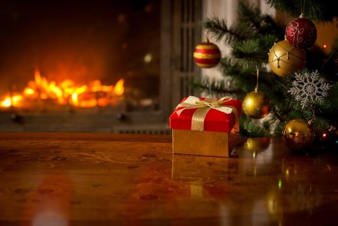 クリスマスプレゼントにマフラーを贈ってみて
