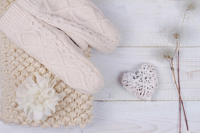 ステキなクリスマスに手袋をプレゼント