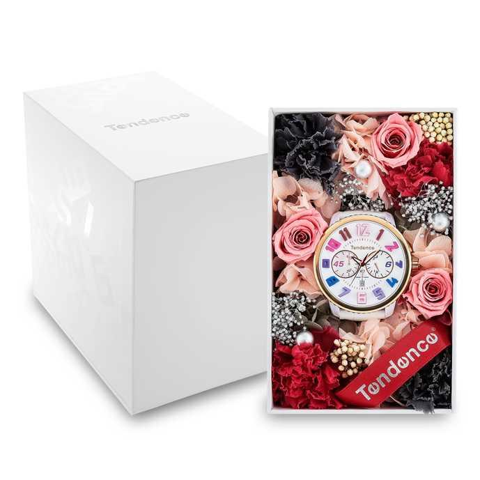 時計用フラワーギフトBOX