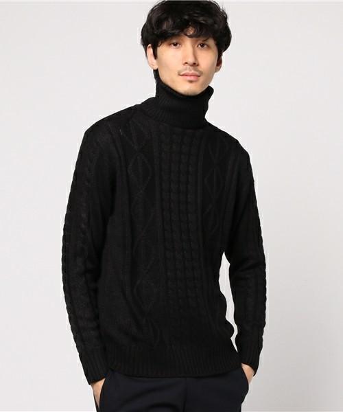 INASTUDIOUSのタートルネックセーター