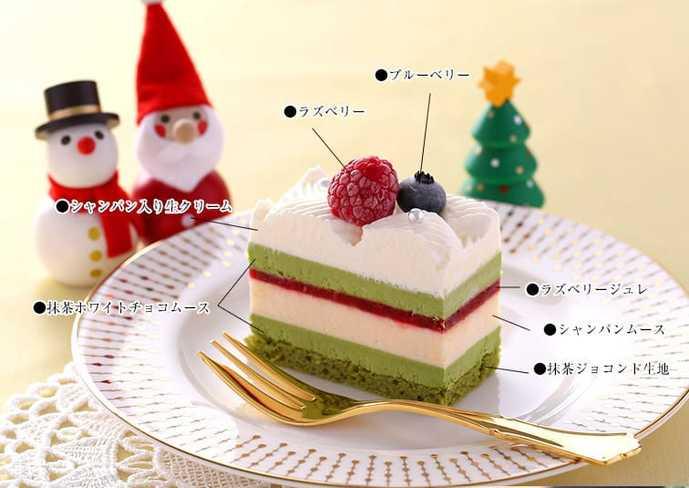 2017年の人気クリスマスケーキは伊藤久右衛門の限定シャンパンケーキ2