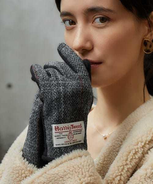 彼女へのクリスマスプレゼントにハリスツイードの手袋.jpg