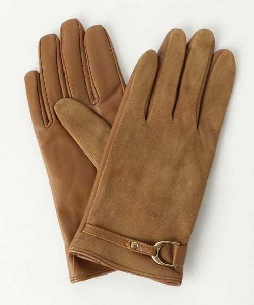 予算10000円のクリスマスプレゼントにユナイテッドアローズの茶色の手袋.jpg