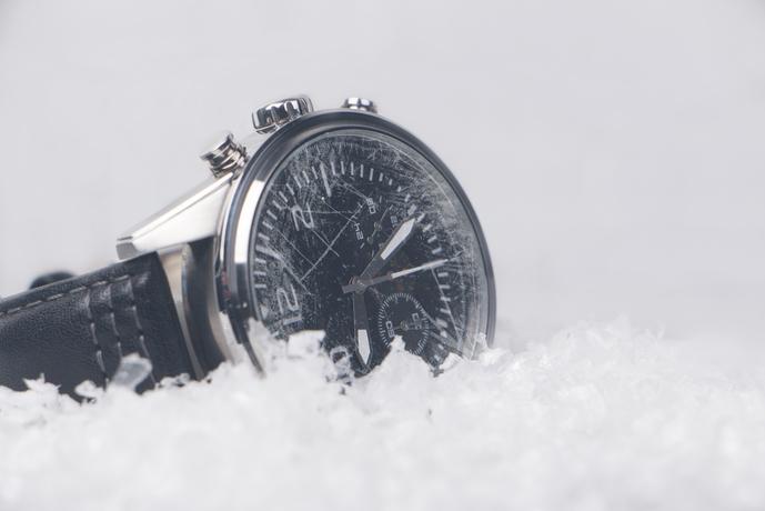 IWCの腕時計を付けてみて