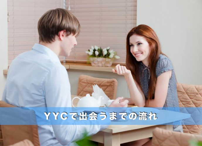 YYCで出会うまでの流れ