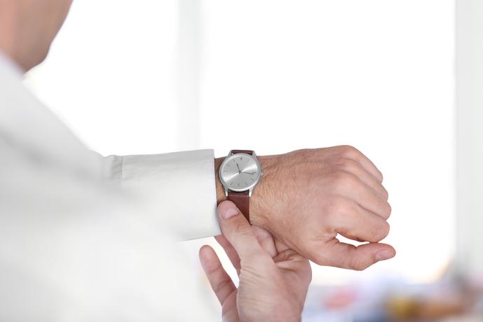 IWCの腕時計着けてみて