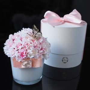 両親の結婚記念日プレゼントはメッセージ入りの花