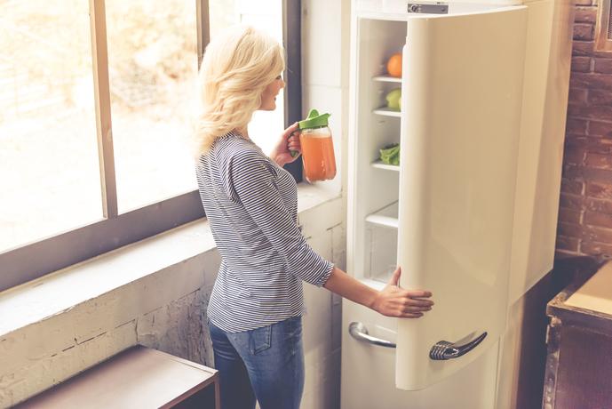 おしゃれなデザイン家電の冷蔵庫