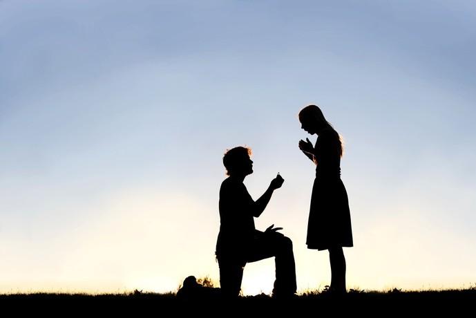彼女に最高の指輪のプレゼント