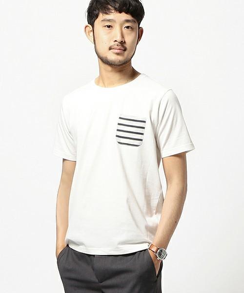 コーディネートに使用している白Tシャツ
