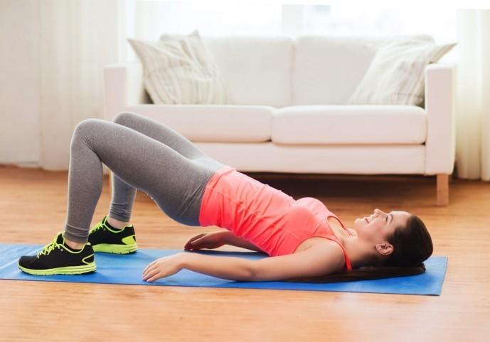 大臀筋・脊柱起立筋・ハムストリングを鍛えられるヒップリフト