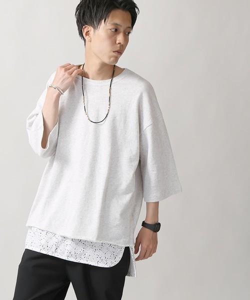 コーディネートに使用している人気白Tシャツ