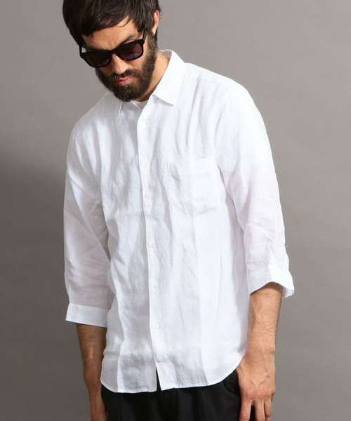 ユナイテッドアローズの白シャツ