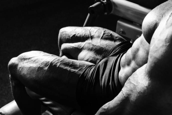 大腿直筋を鍛えられるレッグエクステンション