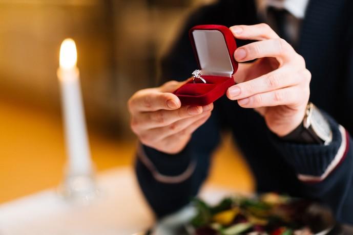 4_5年記念日のプレゼントに婚約指輪