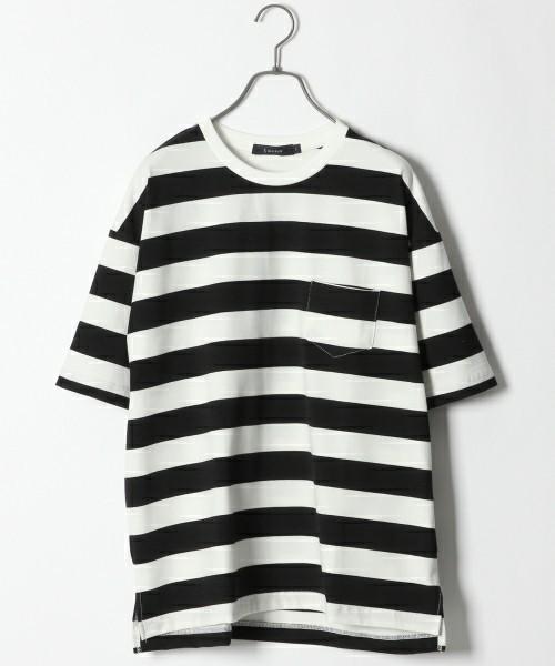 レイジブルーの人気ボーダーTシャツ