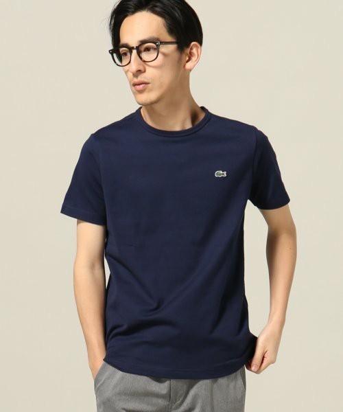 ラコステのワンポイントTシャツ