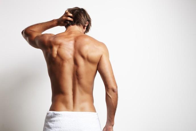 中臀筋の位置