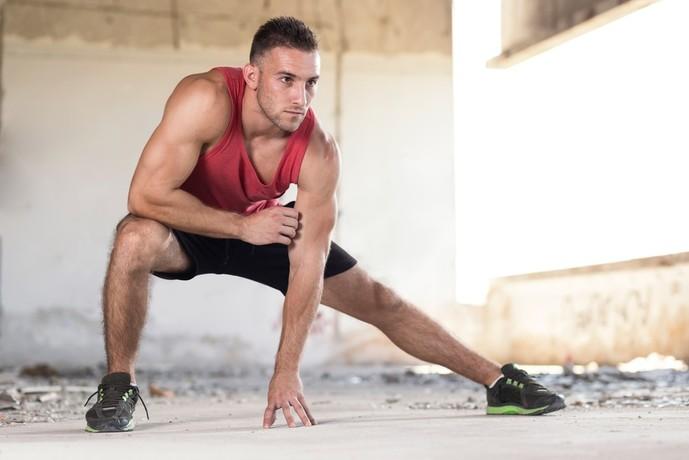 薄筋を鍛えられるサイドランジトレーニング